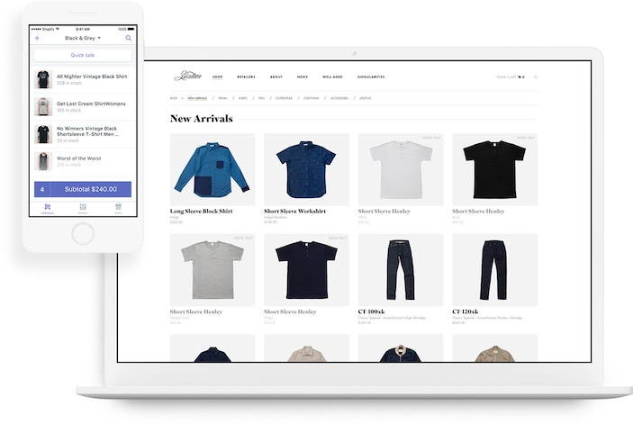 Shopify Product Gallery | Shopify Review | BestWebsiteBuilder.com