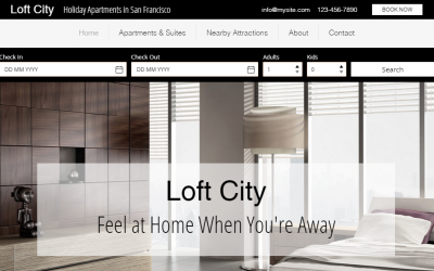 Creating a Hotel Website with Wix