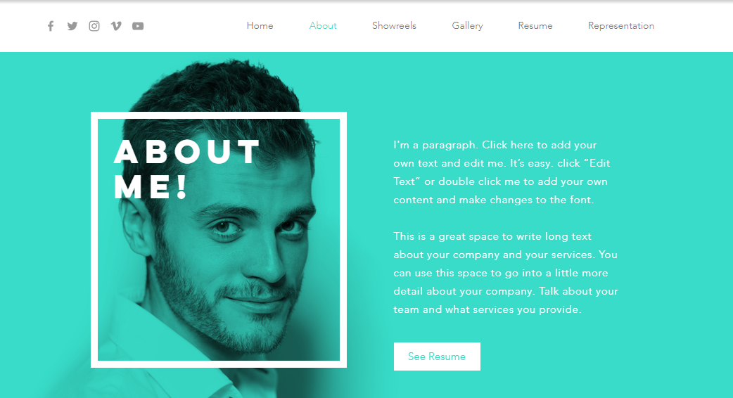10 personal website templates we love