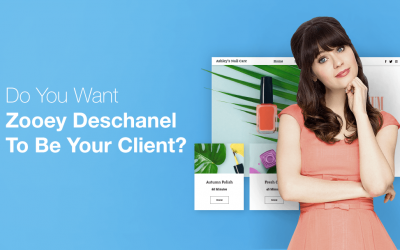 Lucky Wix Bookings User Could Have Deschanel As Next Client